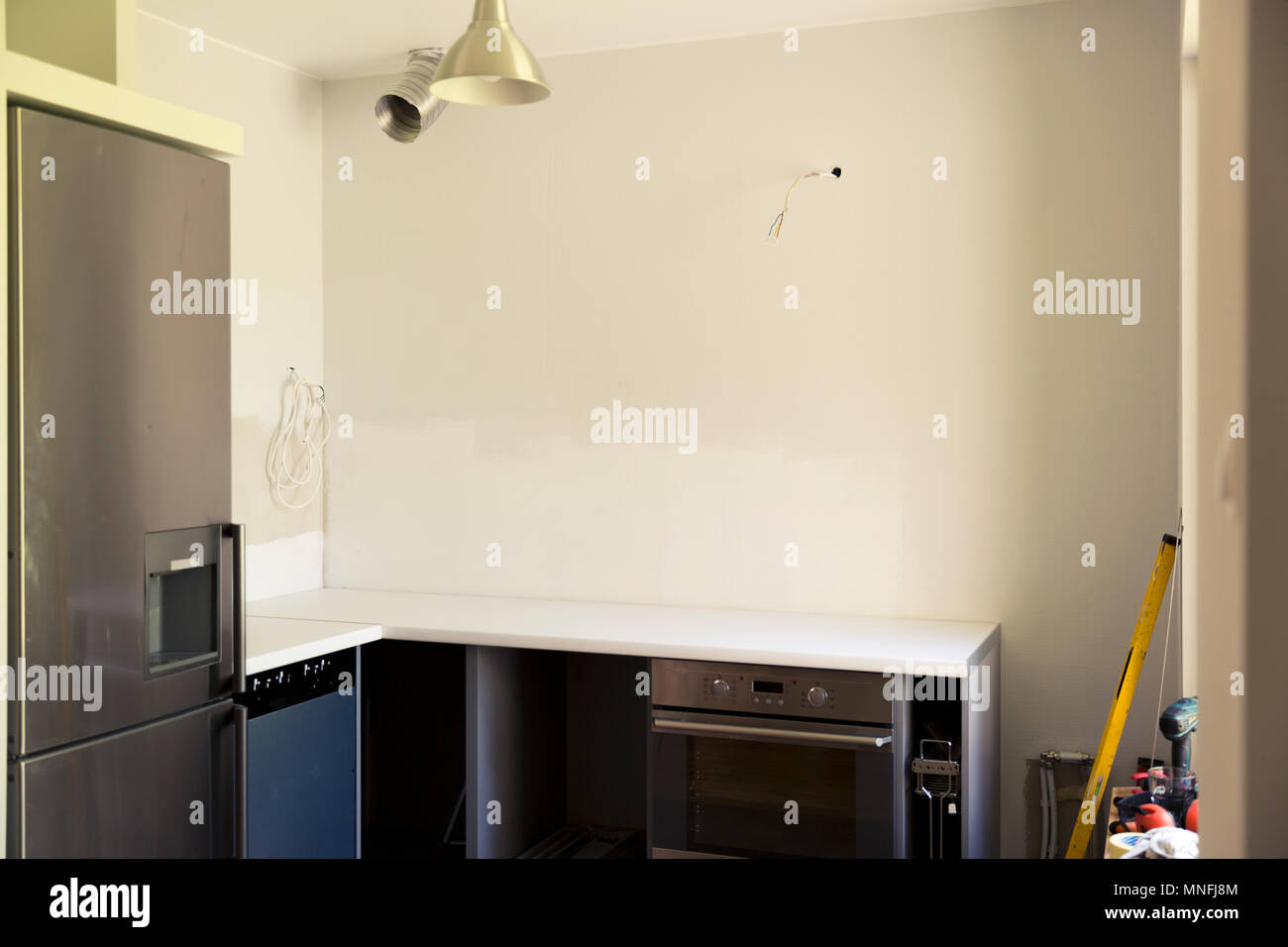 Redecorating Kitchen Stock Photos & Redecorating Kitchen ...