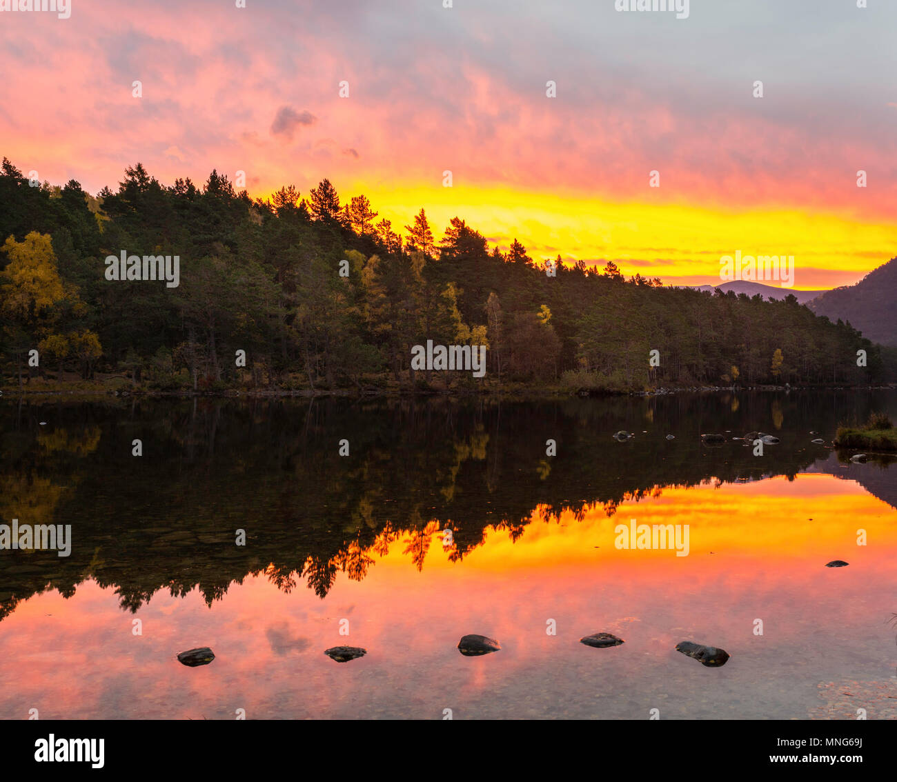 Sunrises and sunsets don't happen like this every day so when you are there for one give thanks - Stock Image