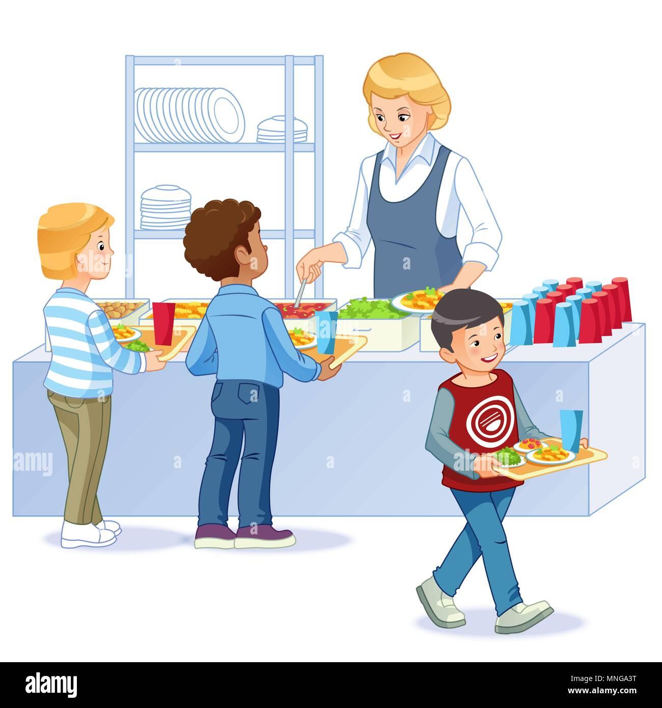 usa school canteen stock photos & usa school canteen stock images
