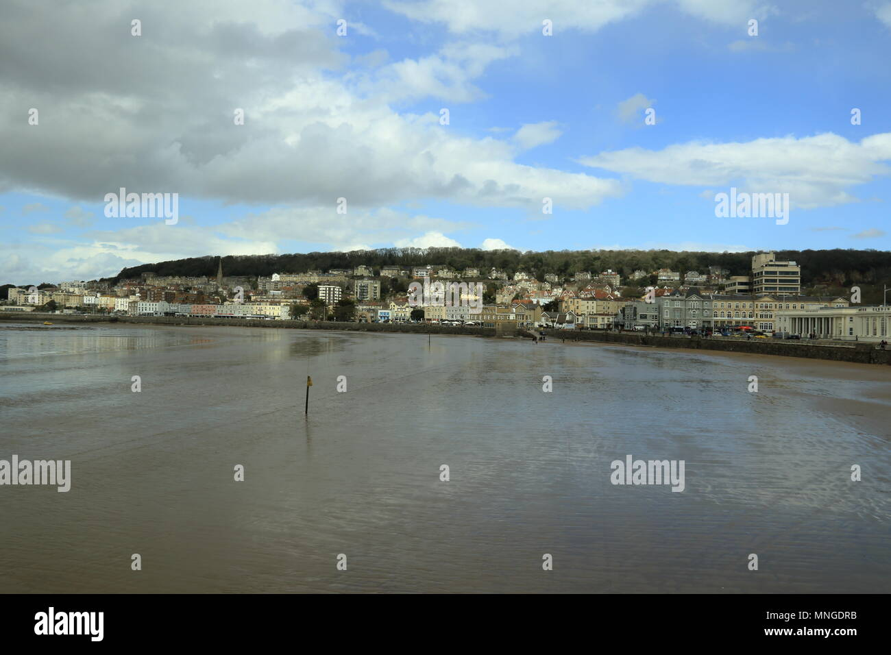 Weston Super Mare,Somerset, - Stock Image