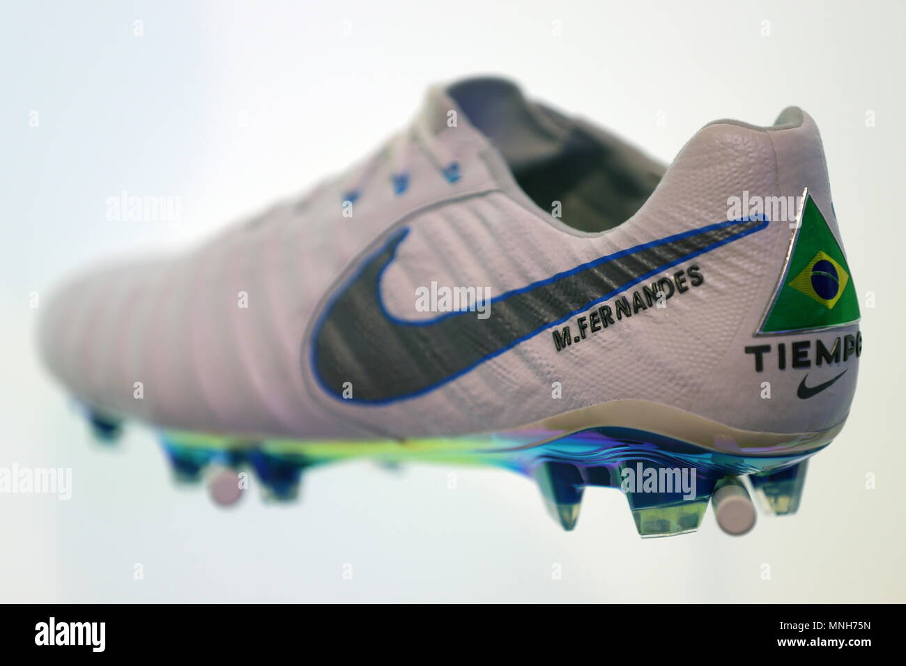 21500f6f3 Nike Football Boots Stock Photos   Nike Football Boots Stock Images ...