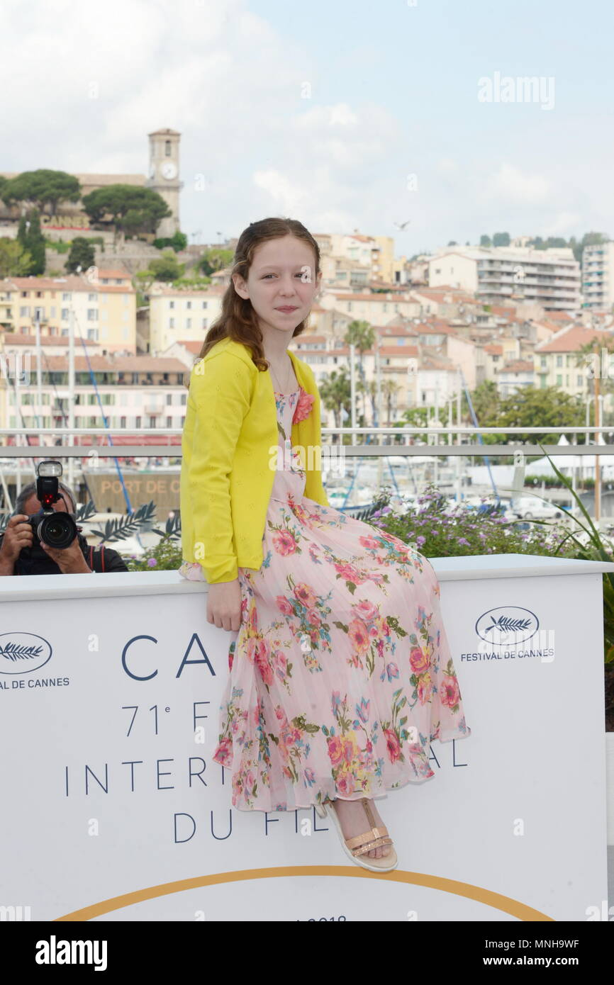 Cannes, France  17th May, 2018  CANNES, FRANCE - MAY 17: Actress