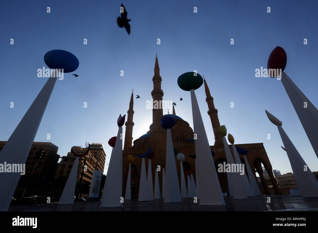 Popular 1 Day Ramadan Decor - 180517-beirut-may-17-2018-xinhua-ramadans-decorations-are-seen-on-the-first-day-of-the-holy-month-of-ramadan-in-a-street-in-beirut-lebanon-on-may-17-2018-xinhuabilal-jawich-MNHF6J  2018_879468.jpg