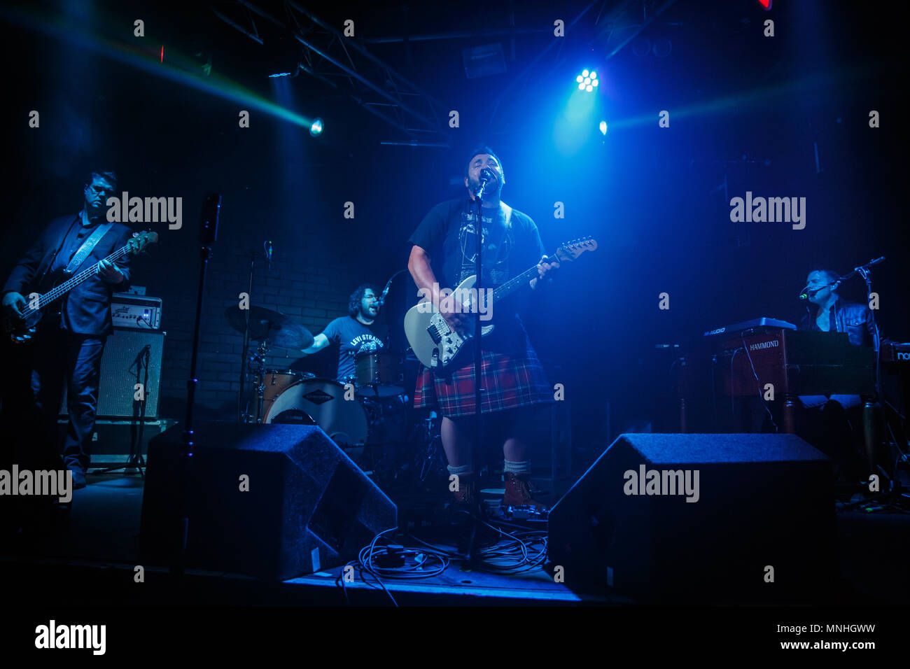 chester uk 18th may 2018 king king perform at the live rooms in