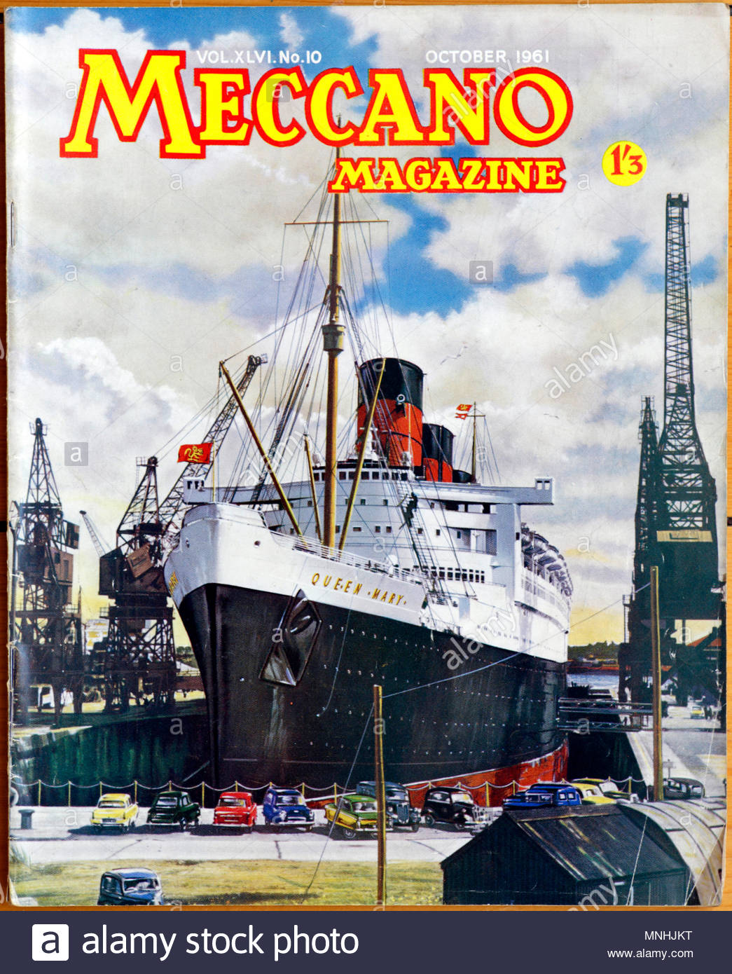 Meccano Monthly Magazine, October 1961 - Stock Image