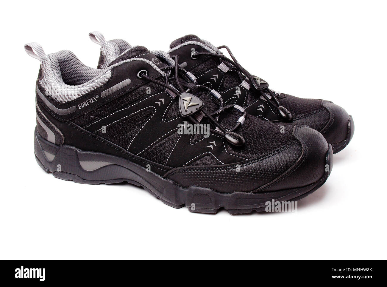 0257ef26356e37 A pair of Men s Ultra Terrain shoes from Ecco intended for outdoor use. -