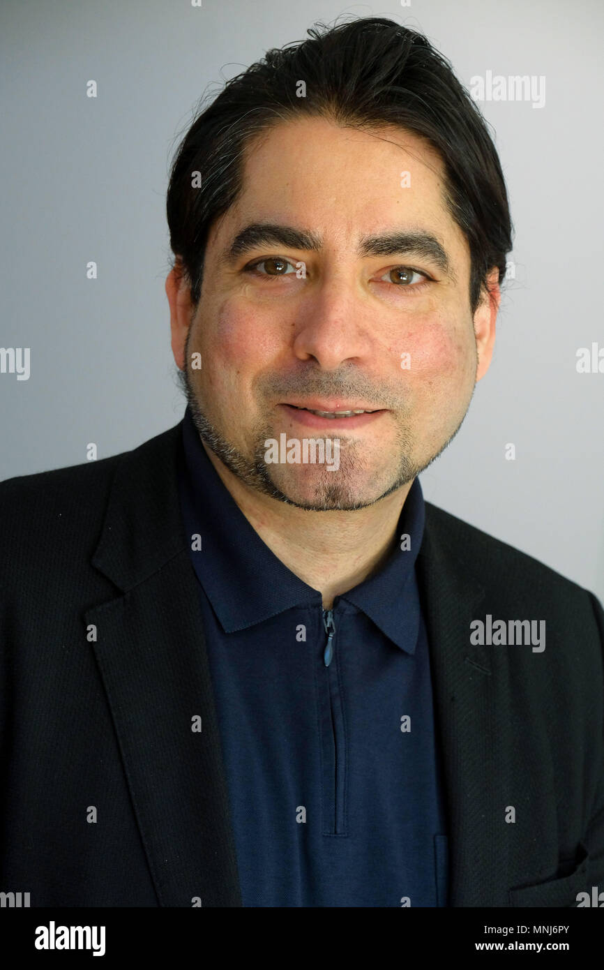 The Islamic sociologist  Prof. Mouhanad Khorchide, Professor of Islamic Religious Education at the Center for Religious Studies (CRS) at the Westfälische Wilhelms-Universität in Muenster (Münster), Germany - Stock Image