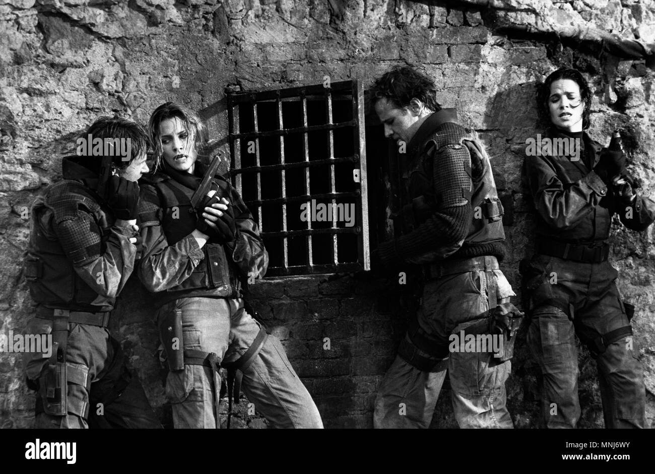 Adrenalin: Fear the Rush, aka: Ultimate Chase _ Die letzte Jagd, USA 1996, Regie: Albert Pyun, Darsteller: Nrobert Weisser, Natasha Henstridge, Christopher Lambert, Elizabeth Barondes - Stock Image