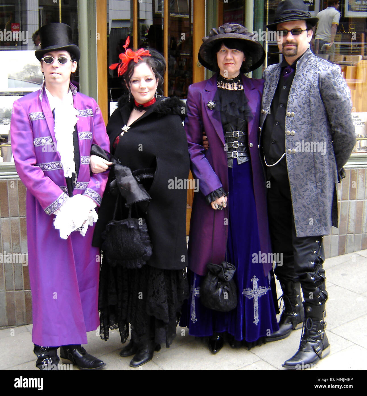 Gothic culture festival in Whitby 29