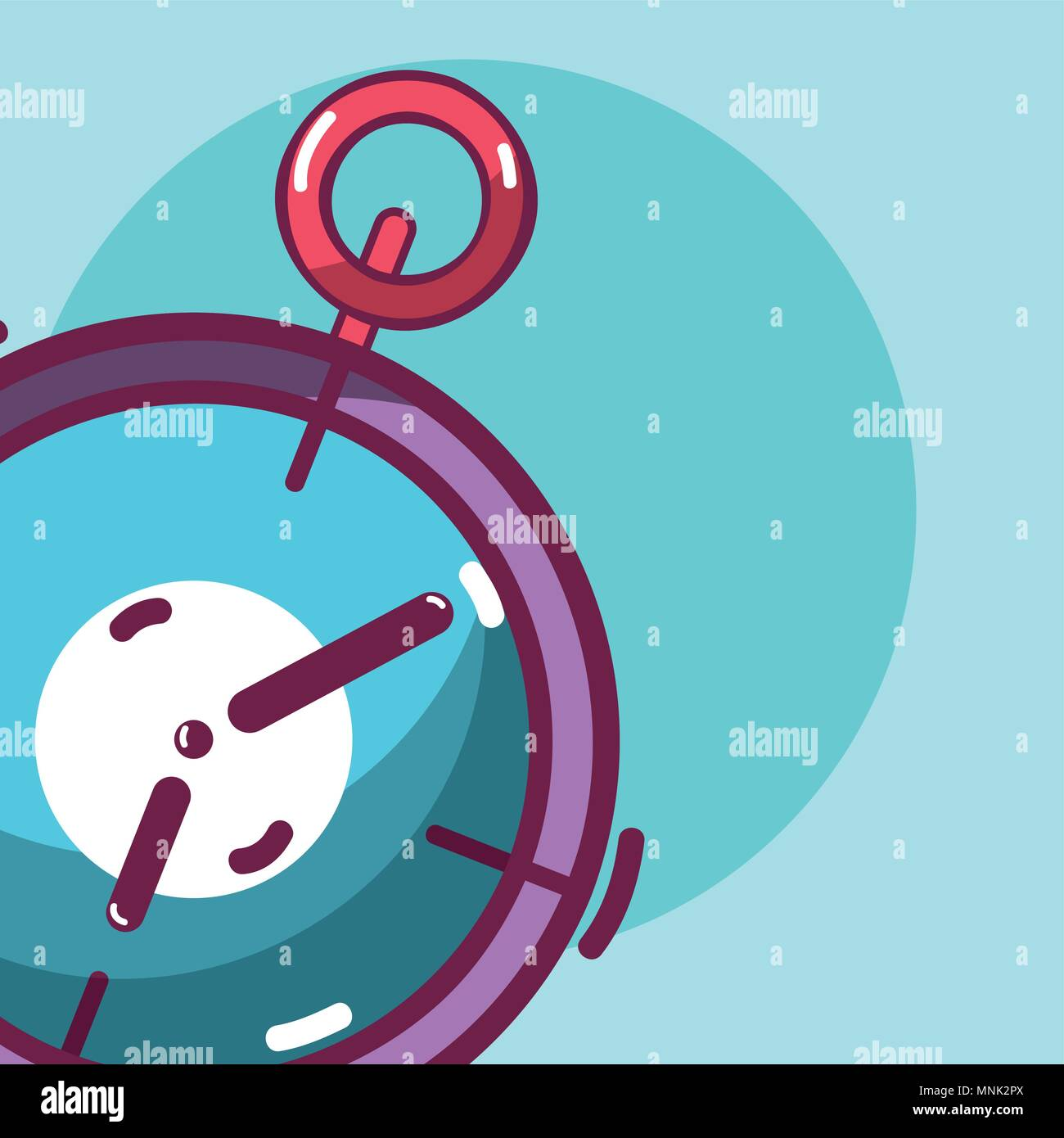 Sport chronometer equipment - Stock Image