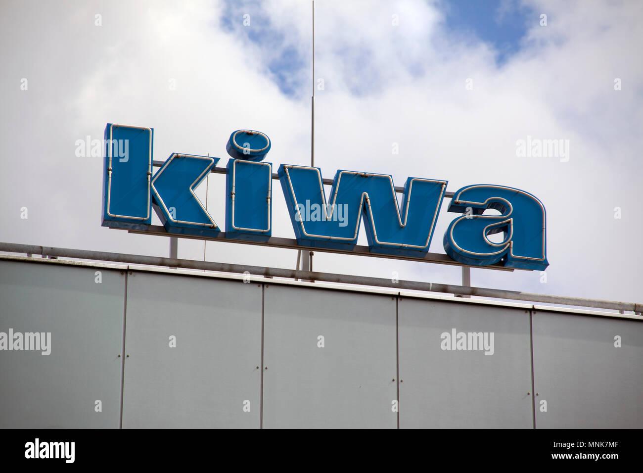 Rijswijk Netherlands August 5 2016 Letters Kiwa On A Building