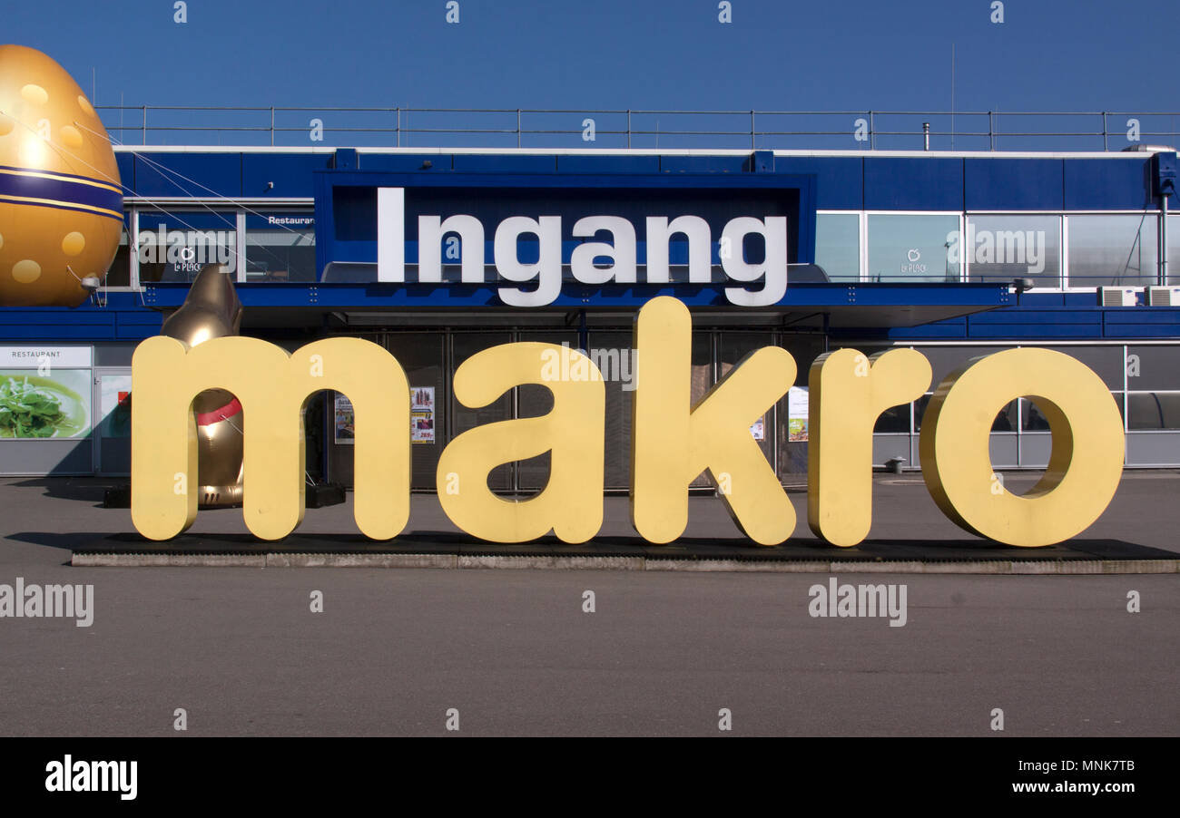 Makro store stock photos makro store stock images alamy amsterdam netherlands march 13 2016 makro is a cash and carry wholesale colourmoves