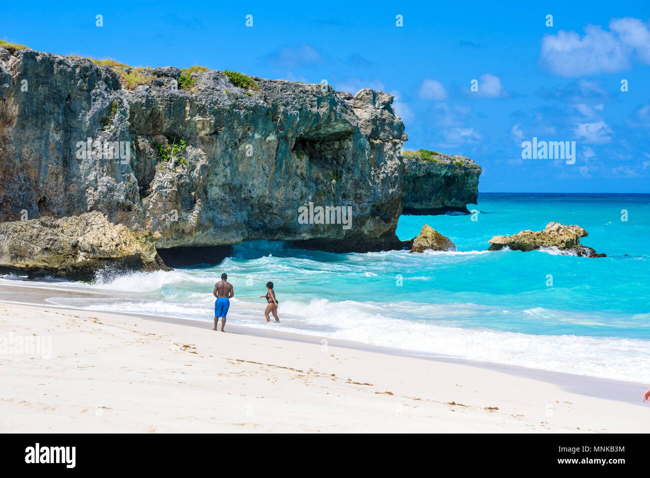Explore The Beauty Of Caribbean: Bottom Bay Beach Barbados Stock Photos & Bottom Bay Beach