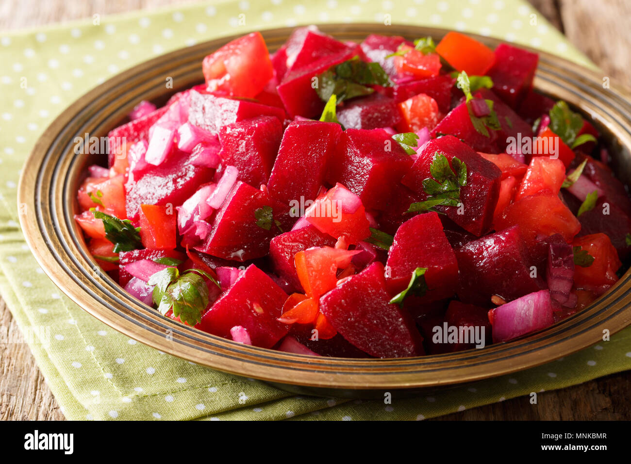 Tell me a salad of boiled beets without mayonnaise