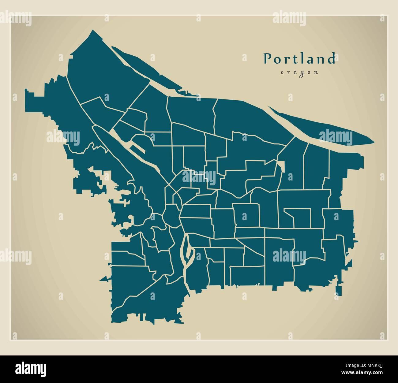 Portland Neighborhoods By The Numbers 2018 The City