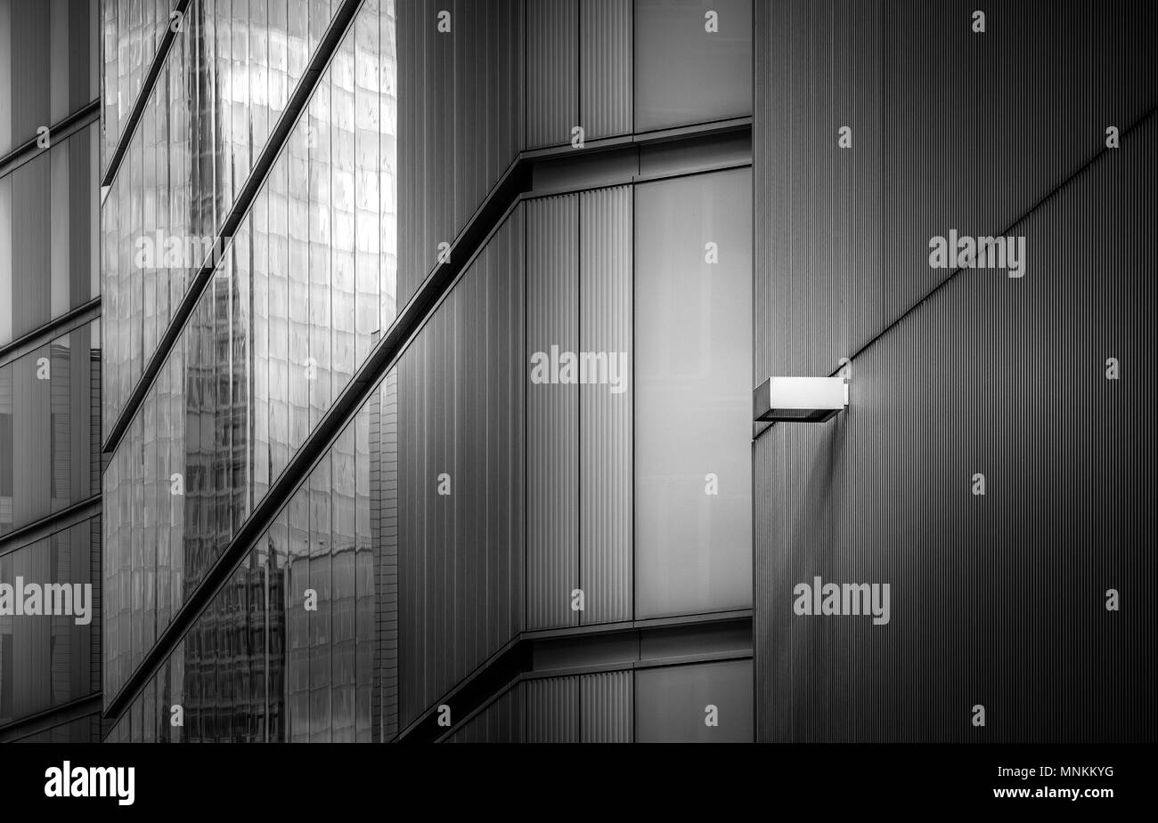 Modern architecture at More Riverside near the London City Hall. - Stock Image