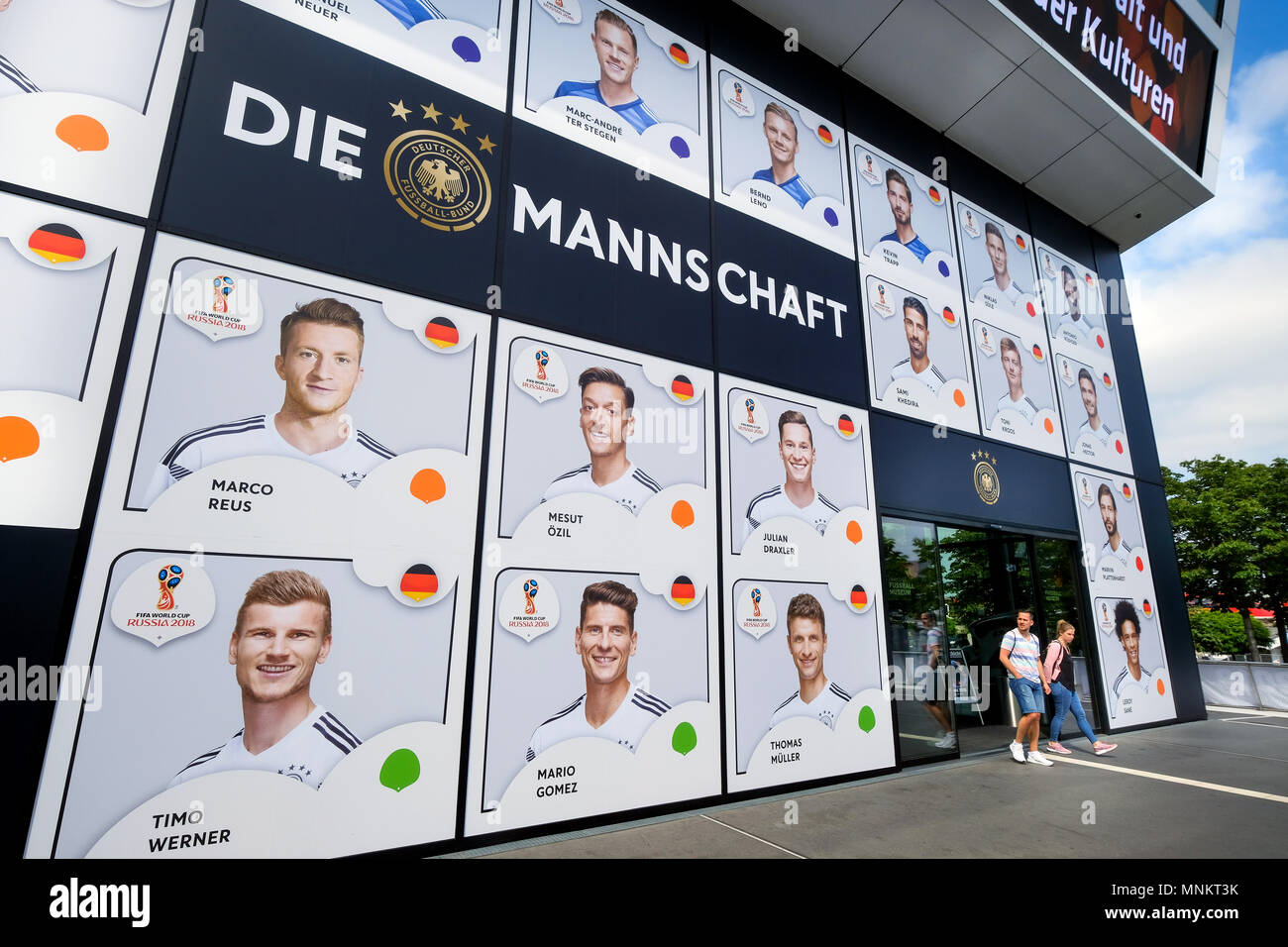 Portraits of players nominated by national coach Joachim Loew (Löw) of the  provisional squad of the German national soccer team for the 2018 FIFA  World Cup ... 35b6406b6