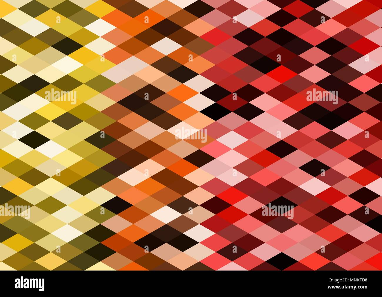Background with colorful geometric elements. Vector illustration. - Stock Vector
