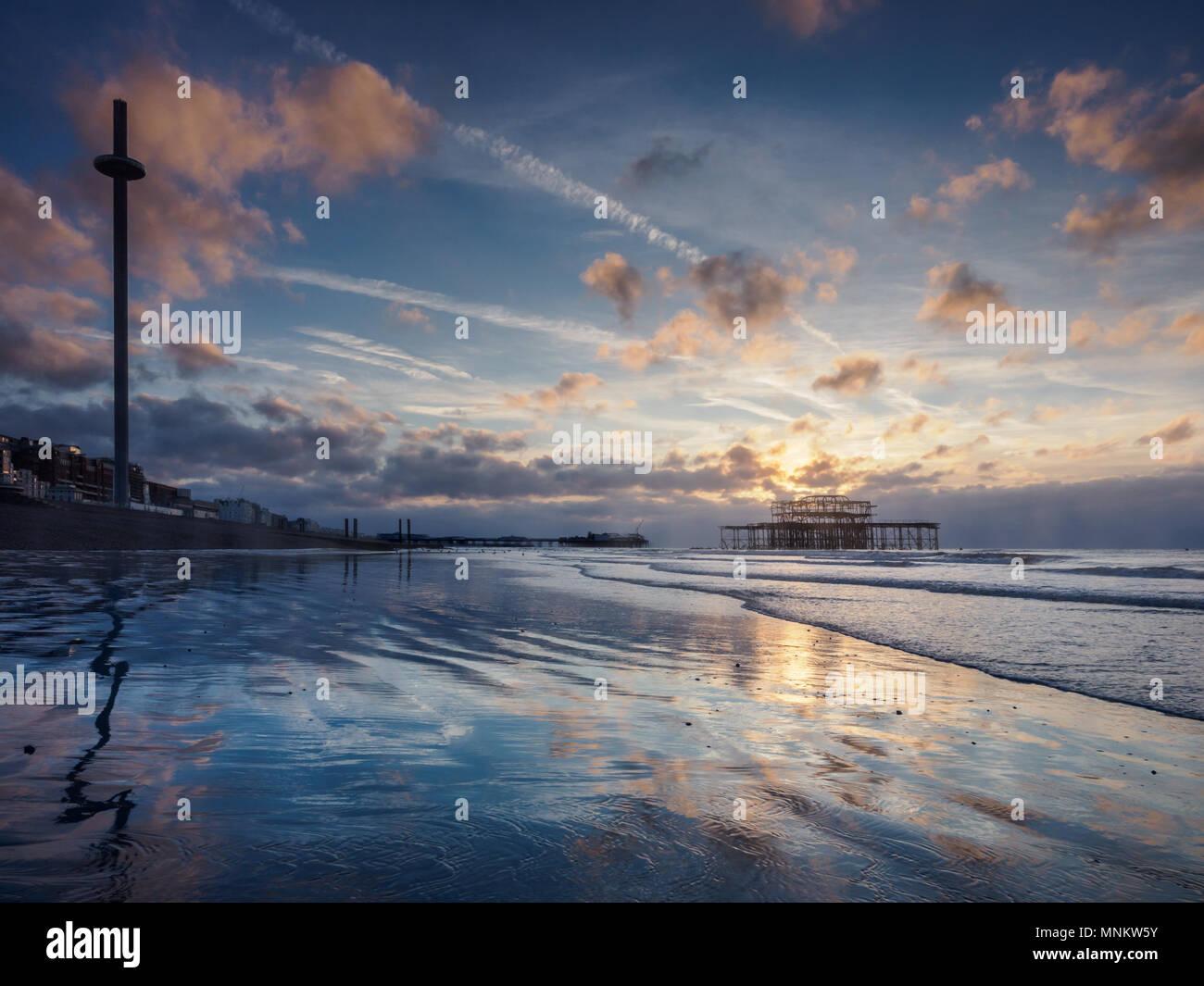 Good morning Brighton! - Stock Image