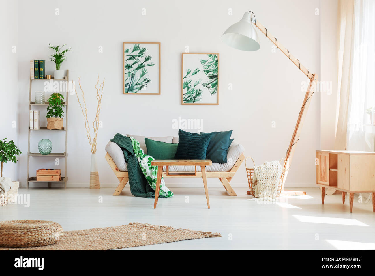 Marvelous Dark Green Pillow On Beige Sofa Against White Wall With Evergreenethics Interior Chair Design Evergreenethicsorg