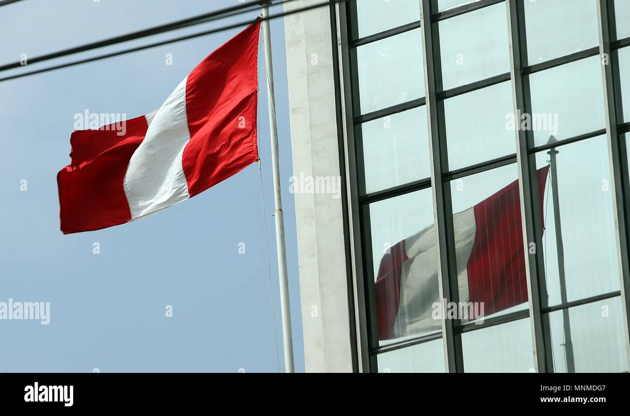 Recorrido bandera peruana aproximos dias del dia de la for El comercio oficinas