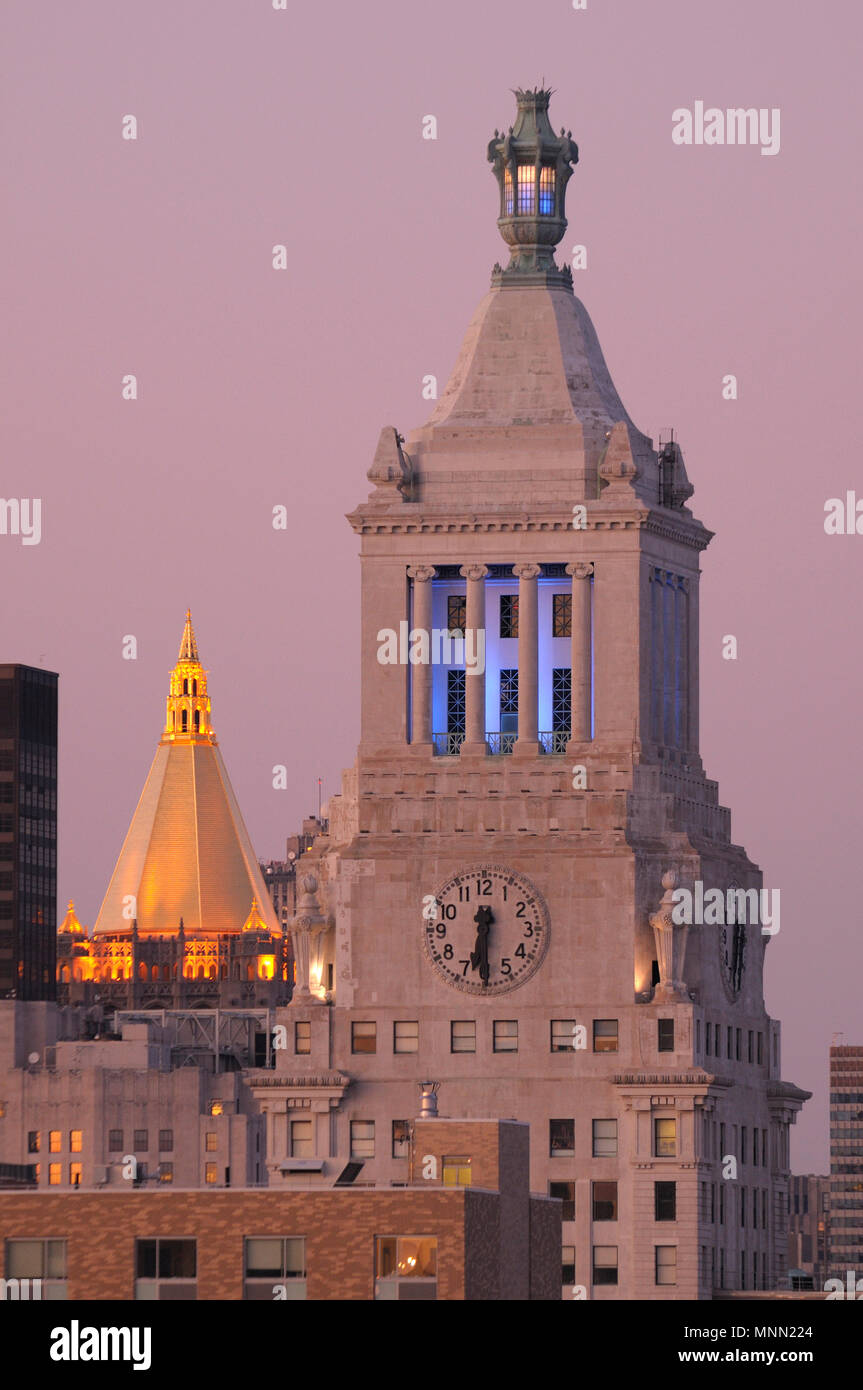 North America; American; East Coast; USA; New York; Manhattan, Union Square, Consolidated Edison Building - Stock Image