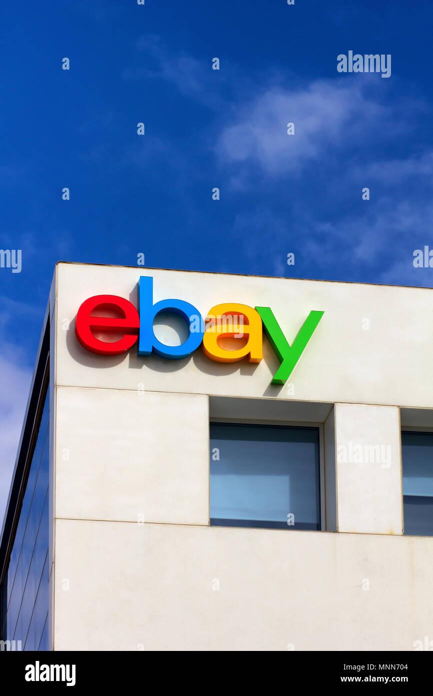 SAN JOSE, CA/USA - MARCH 1, 2014: Ebay Corporate