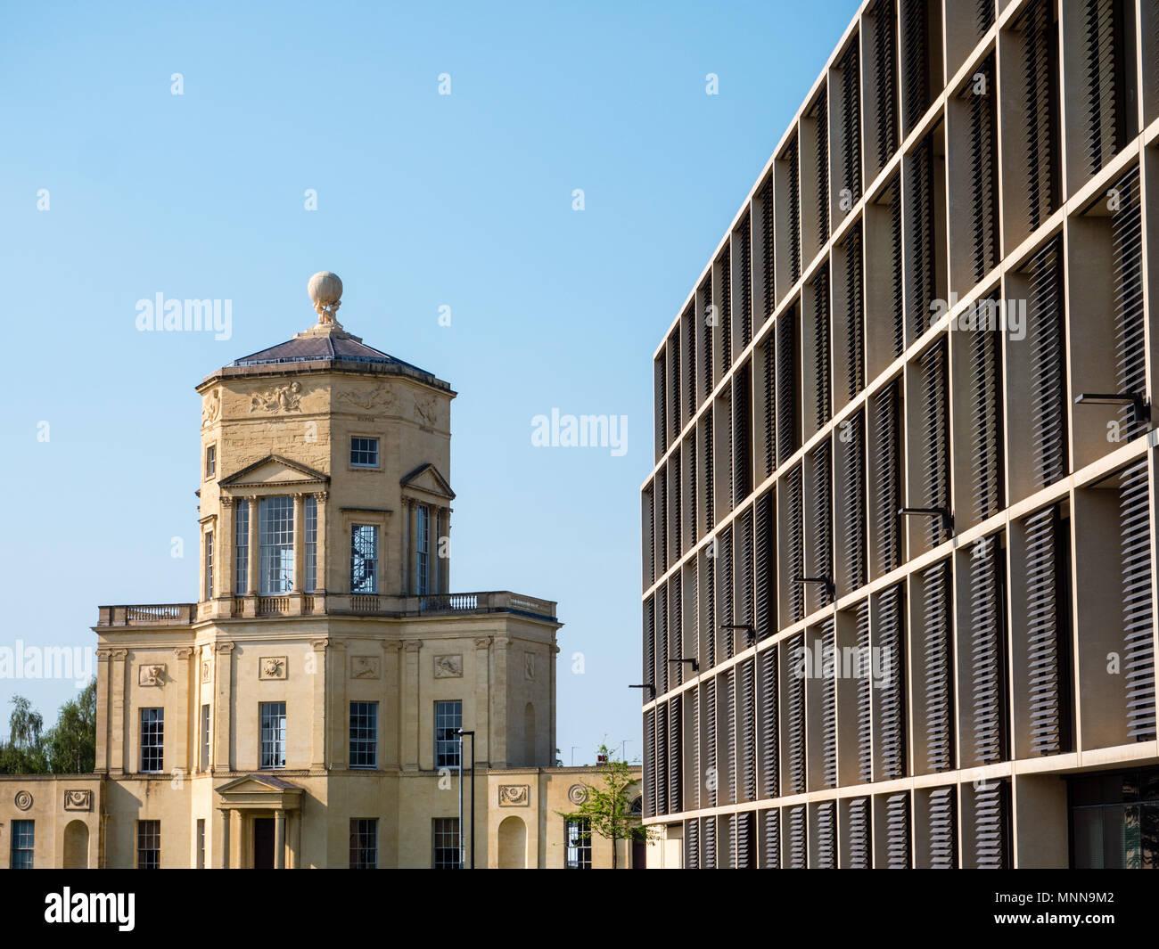 grade I listed Radcliffe Observatory, Radcliffe Observatory Quarter, University of Oxford, Oxford, Oxfordshire, England, UK, GB. - Stock Image