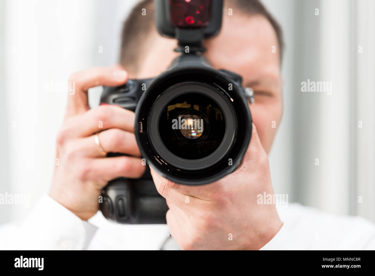 Photographer For Hire Stock Photos & Photographer For Hire Stock