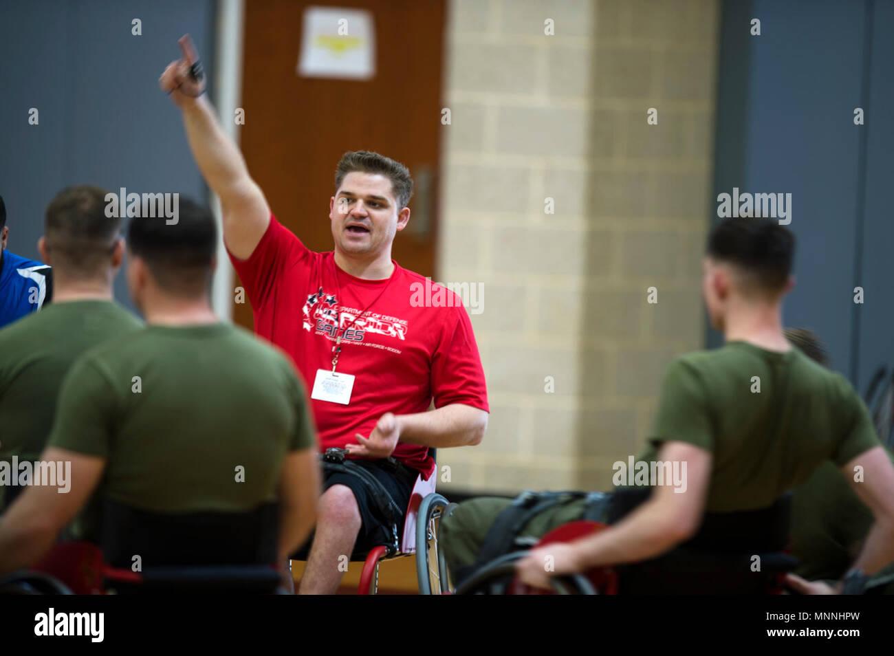 Wheelchair Basketball Coach Stock Photos & Wheelchair ...