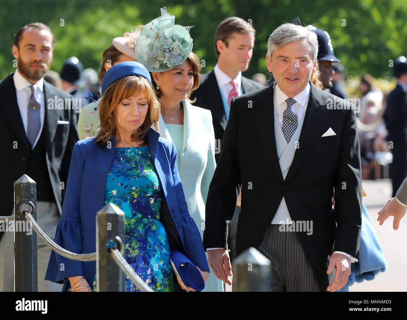 Royal Wedding 2018 Date.Michael Middleton Right Arrives At St George S Chapel At Windsor
