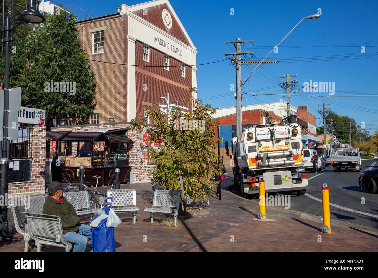 Eastwood, a suburb of Sydney,Australia - Stock Image