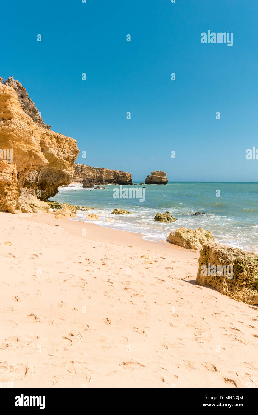 Beautiful sandy beaches and turquoise ocean. Stock Photo