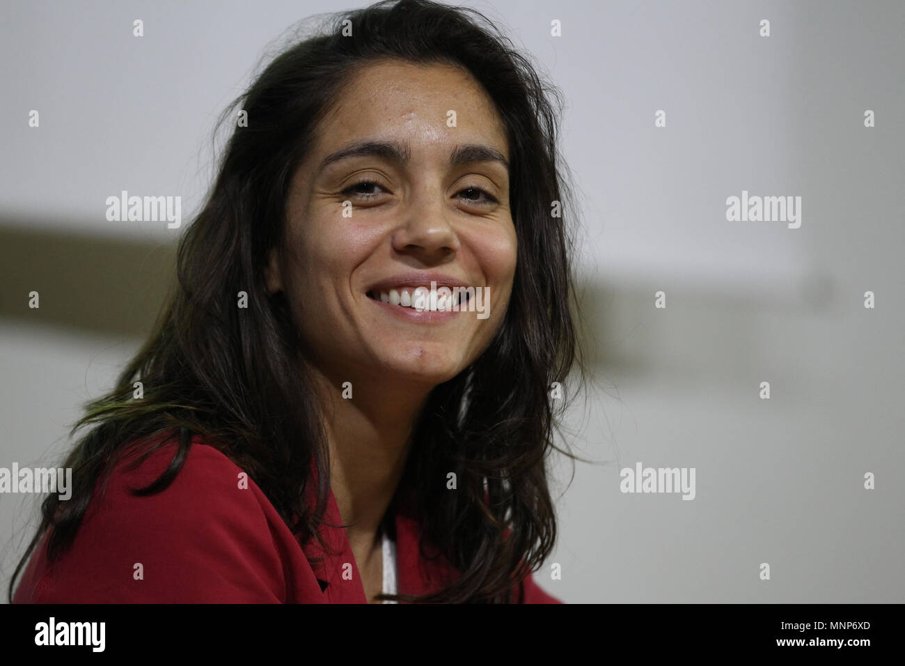 May 18, 2018 - in the picture: the actress Cristina Dell'Anna.