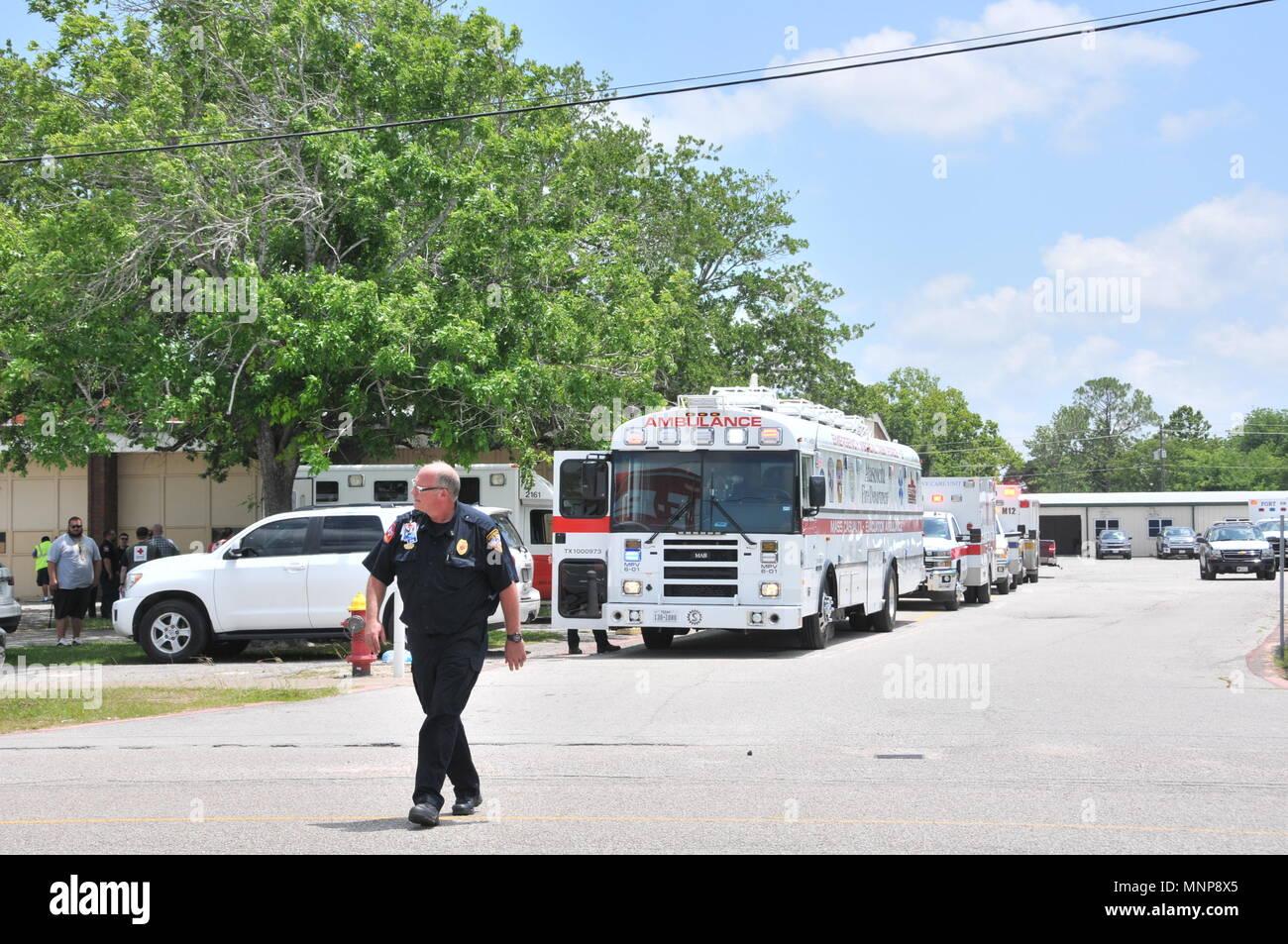 police ambulance shotgun