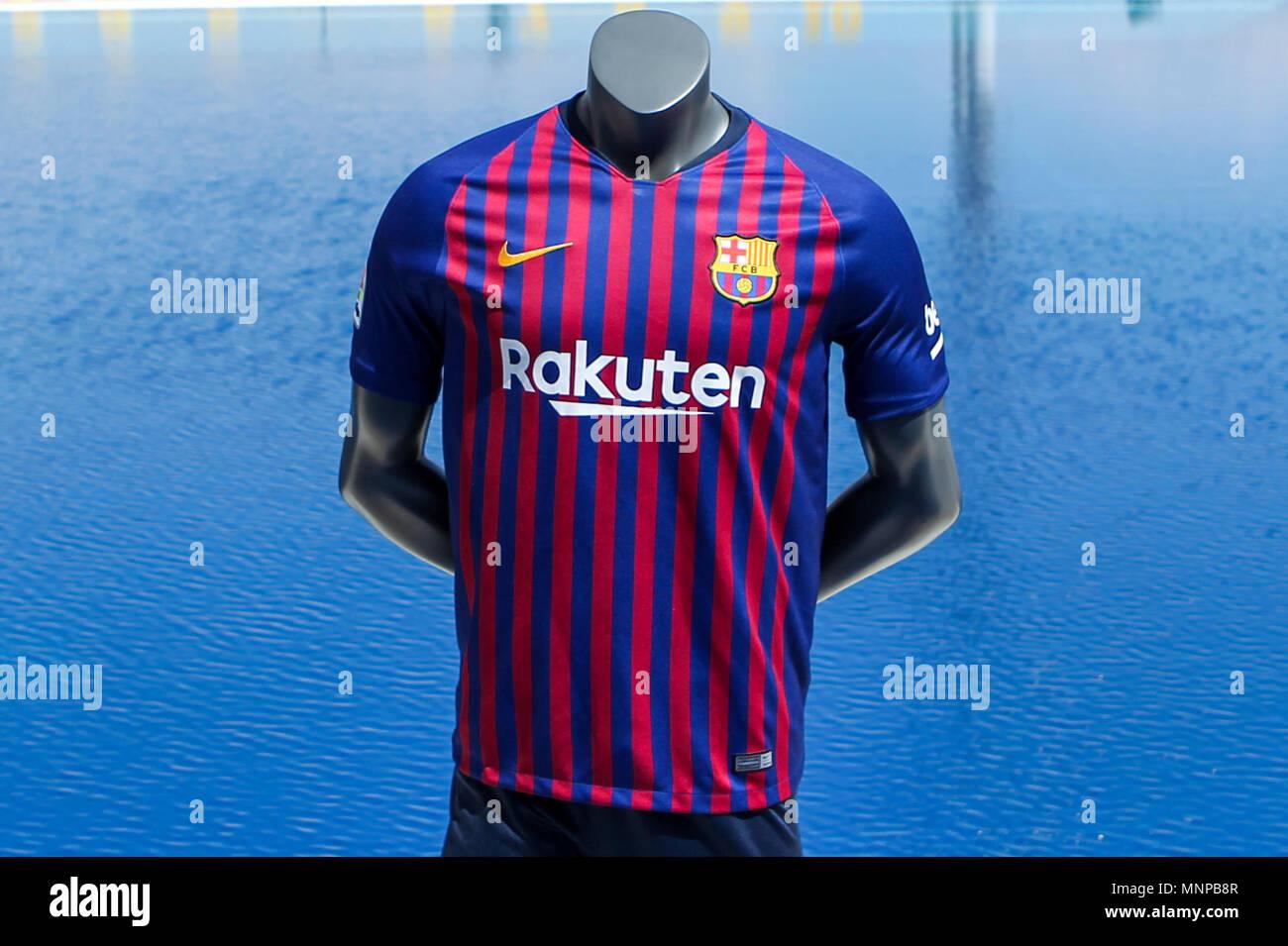pretty nice 126ca ad310 Piscines de Montjuic, Barcelona, Spain 19th May 2018. FC ...