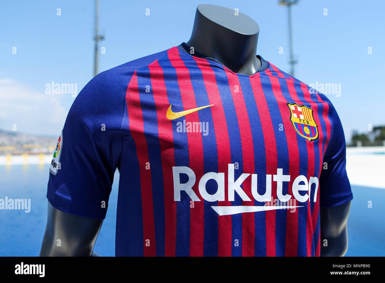 pretty nice a4b2d 01c4a Piscines de Montjuic, Barcelona, Spain 19th May 2018. FC ...