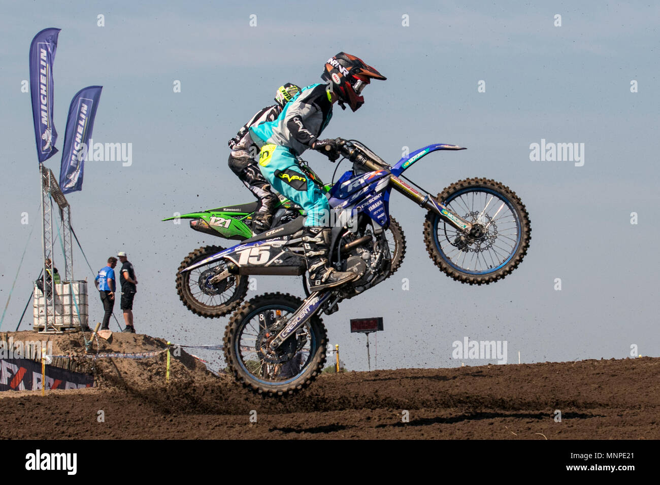 Preston, UK  19/05/2018  Michelin MX Nationals moto cross