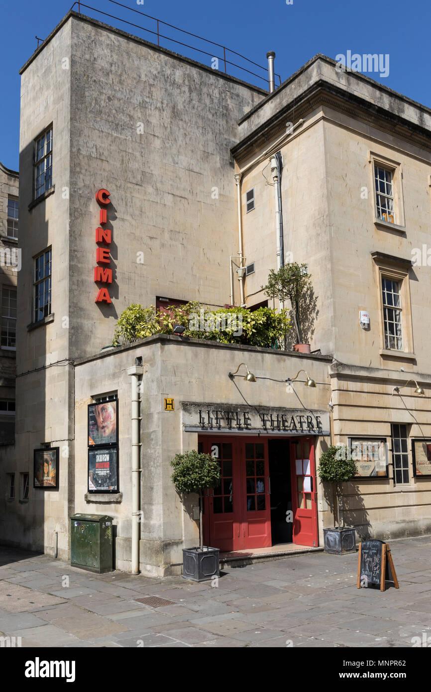 The Little Theatre, St Michaels Place, Bath, England - Stock Image