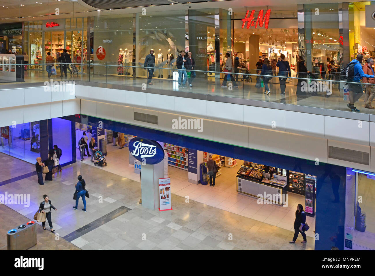Stratford Westfield shopping centre