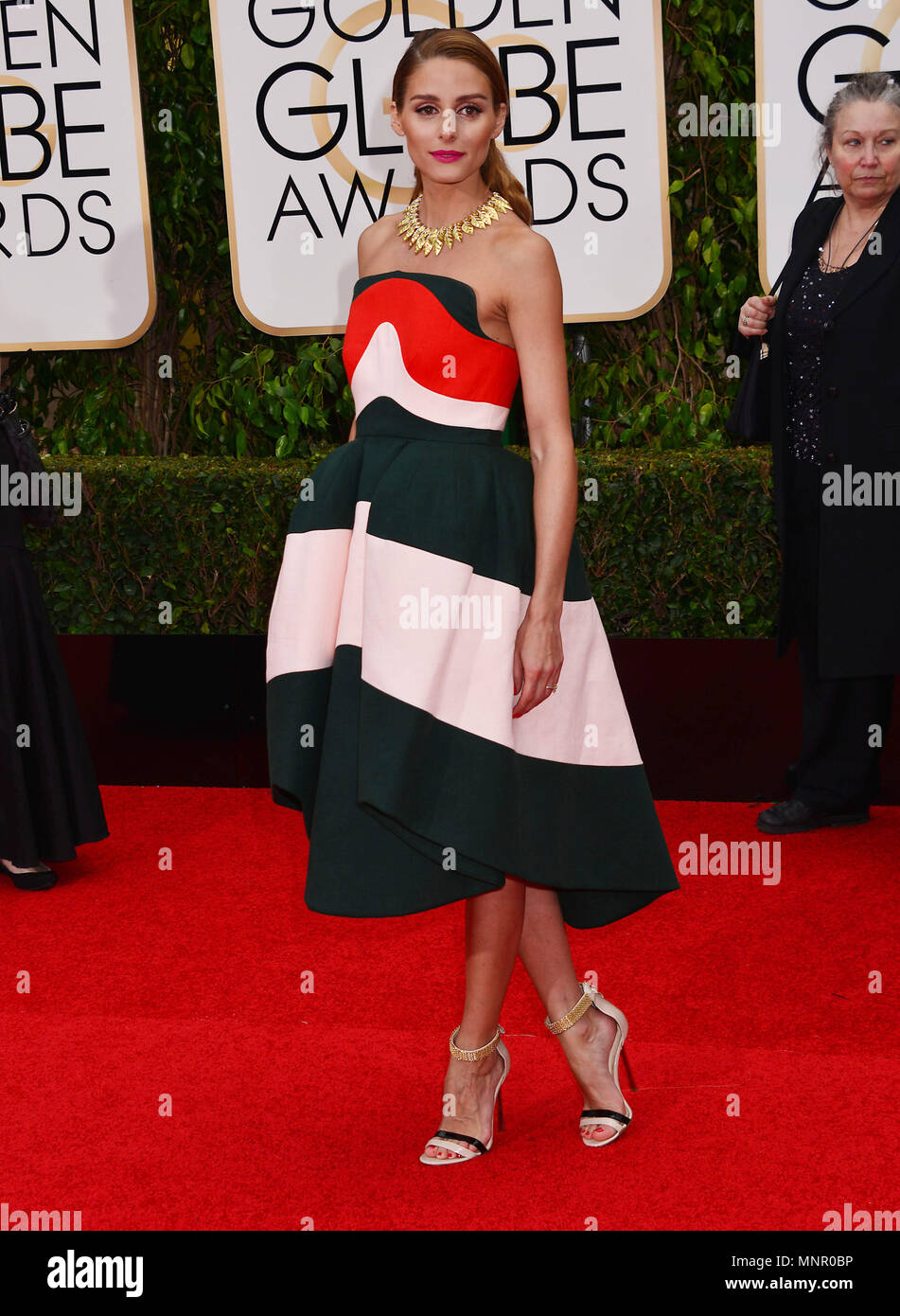 0581d62056 Olivia Palermo 470 at the 2016 Golden Globe Awards at the Beverly Hilton in  Los Angeles