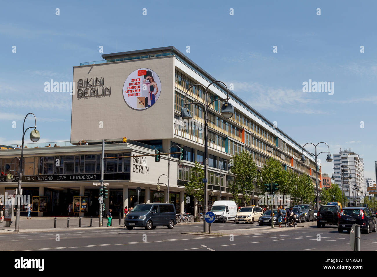Bikini Berlin building, a concept shopping center at Zoo Berlin with a mix of local and international design brands - Stock Image