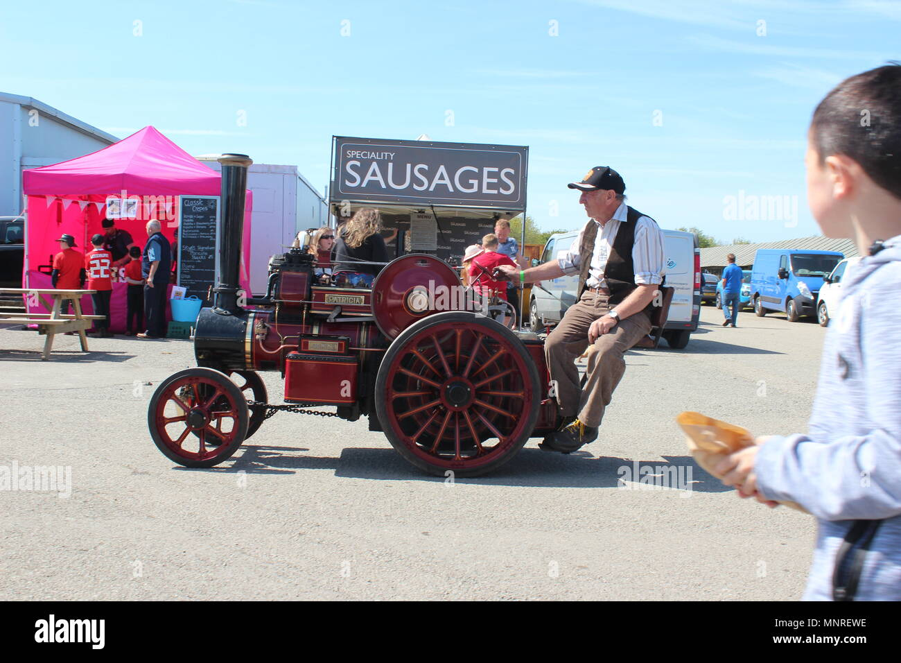 Anglesey Transport Festival  at the Anglesey Showground, Wales - Stock Image
