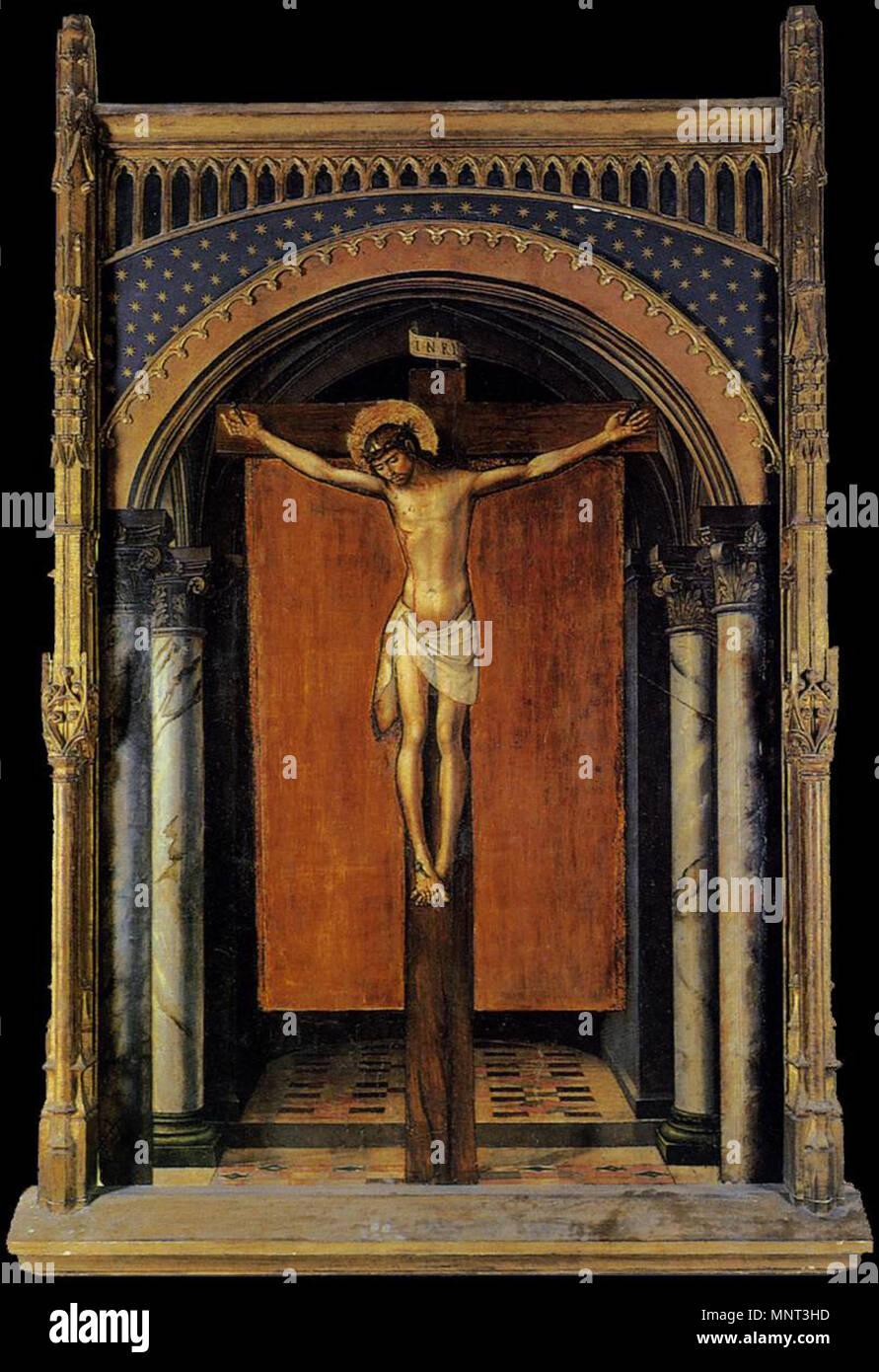 Spanish Cristo En La Cruz Christ On The Cross Español La Obra