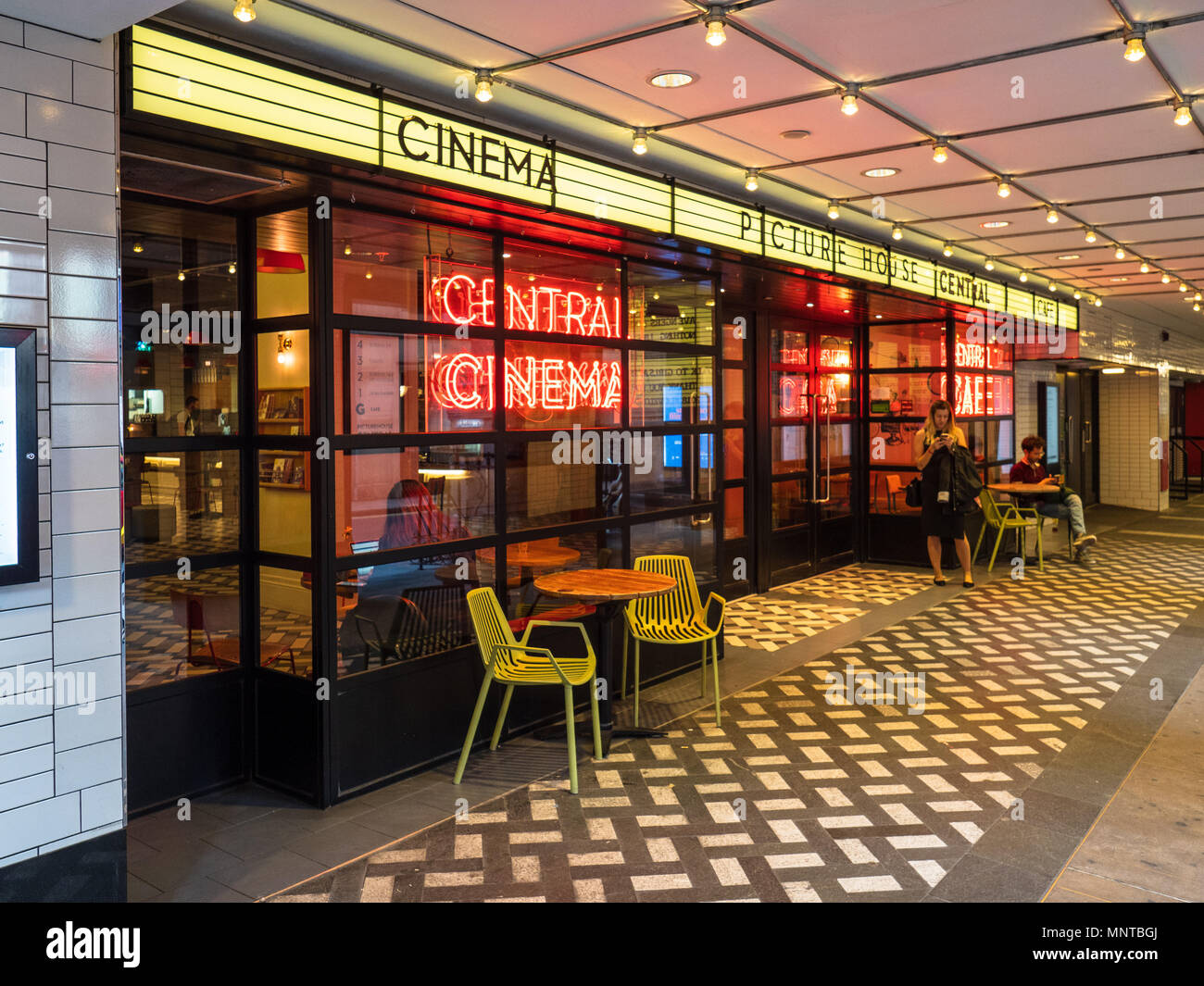 PictureHouse Central Cinema near Piccadilly Circus in London's West End - Stock Image