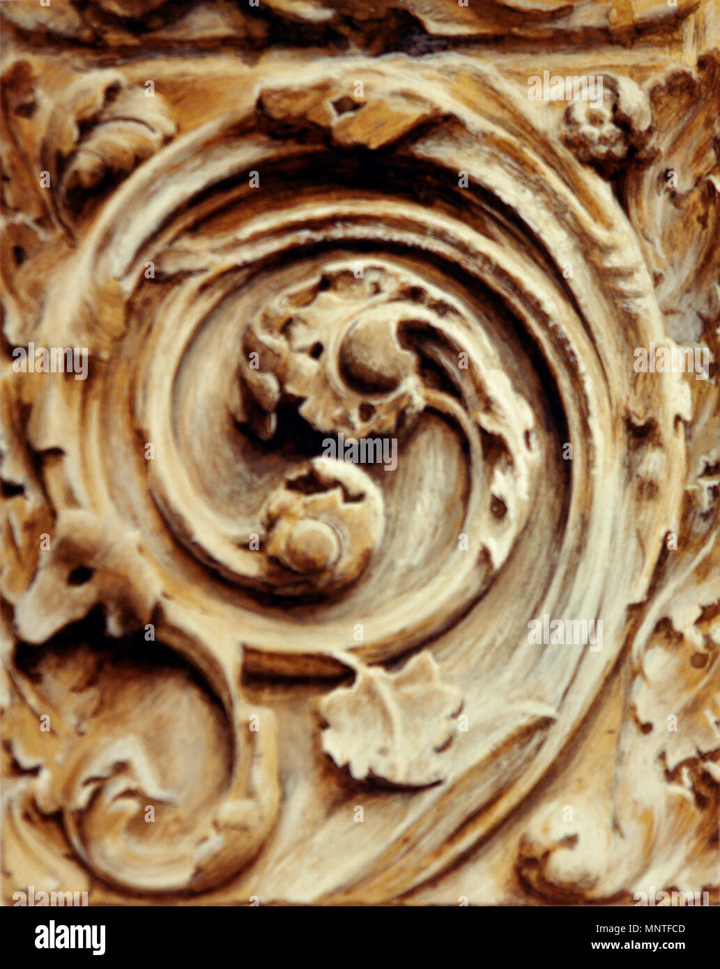 . English: John Ruskin (1819-1900): Spiral relief from the north transept door, Rouen Cathedral, 1882, pencil, watercolour and bodycolour, 21.3 x 17.2 cm. 1882.   John Ruskin (1819–1900)   Alternative names Ruskin  Description British author, poet, artist and art critic  Date of birth/death 8 February 1819 20 January 1900  Location of birth/death London English: Brantwood, Lake District  Work location England, Venice, Switzerland, France  Authority control  : Q179126 VIAF:73859585 ISNI:0000 0001 2139 3446 ULAN:500006262 LCCN:n79006950 NLA:36583544 WorldCat 1135 Spiral relief from the - Stock Image