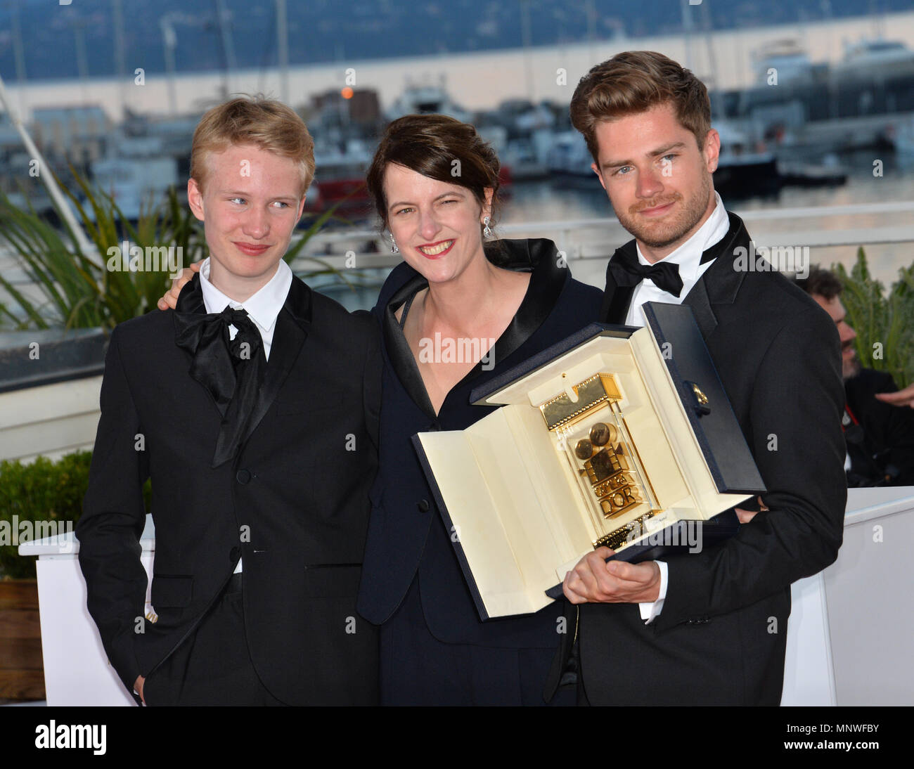 Ursula Polster Design.Cannes France May 19 2018 Victor Polster Lukas Dhont