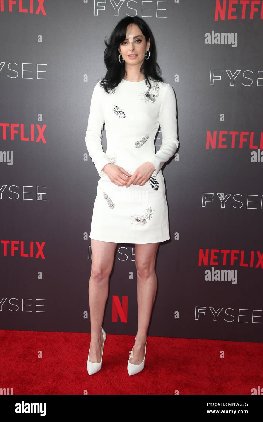 Los Angeles Ca Usa 19th May 2018 Krysten Ritter At Netflix Fyc