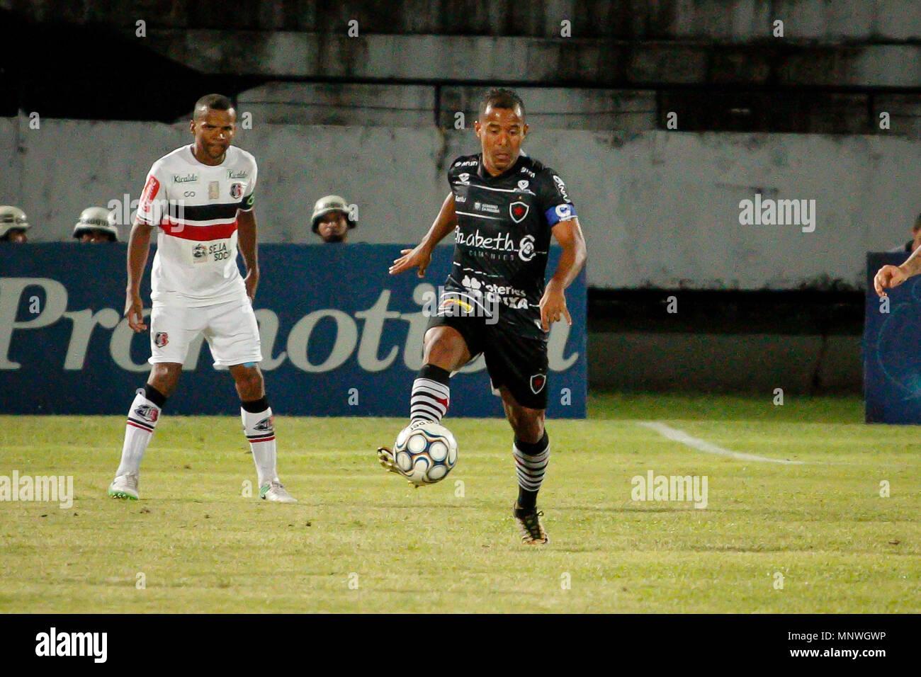 Recife, Brazil. 19th May, 2018. Marcos Aurelio Botafogo player ...