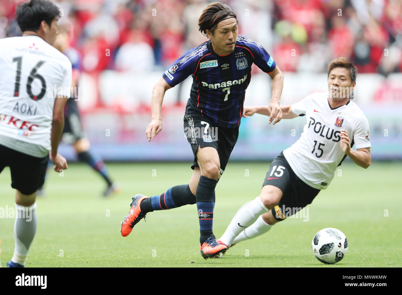 Osaka Japan 19th May 2018 Yasuhito Endo Gamba Football Soccer 2018 J1 League Match Between Gamba Osaka 0 0 Urawa Red Diamonds At Panasonic Stadium Suita In Osaka Japan Credit Jun Tsukida Aflo